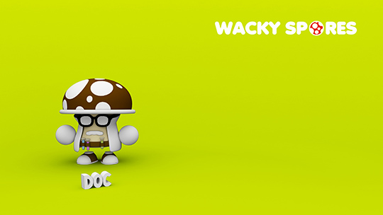 Wacky Spores Doc wallpaper
