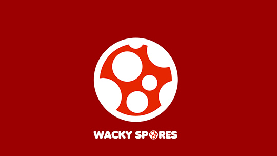 Wacky Spores Logo wallpaper