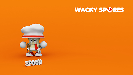 Wacky Spores Spoon wallpaper