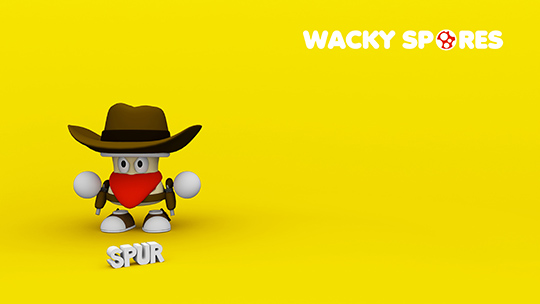 Wacky Spores Spur wallpaper